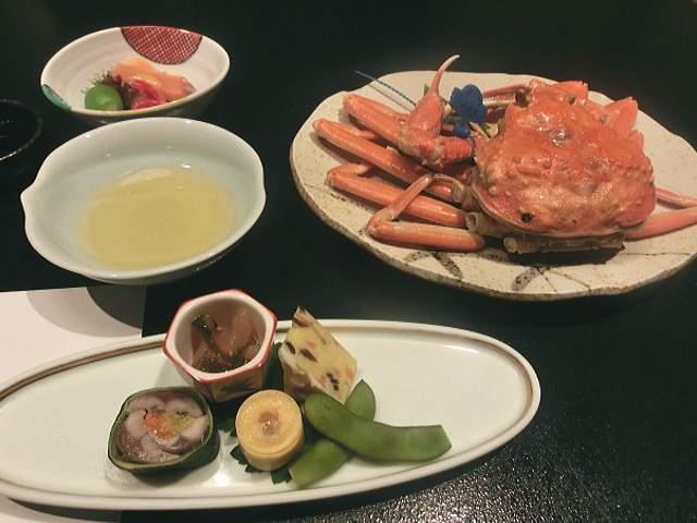 人気の蟹料理