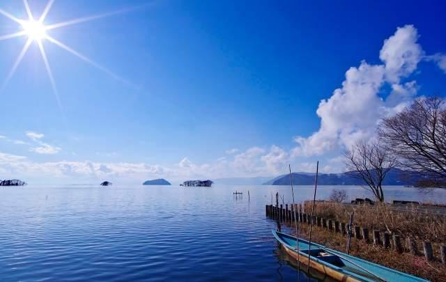 琵琶湖も目の前