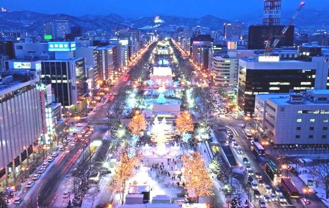 200万人都市の札幌市街★バスで1時間程度