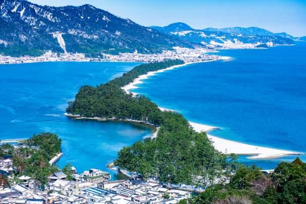 車で1時間以内には日本三景の天橋立!