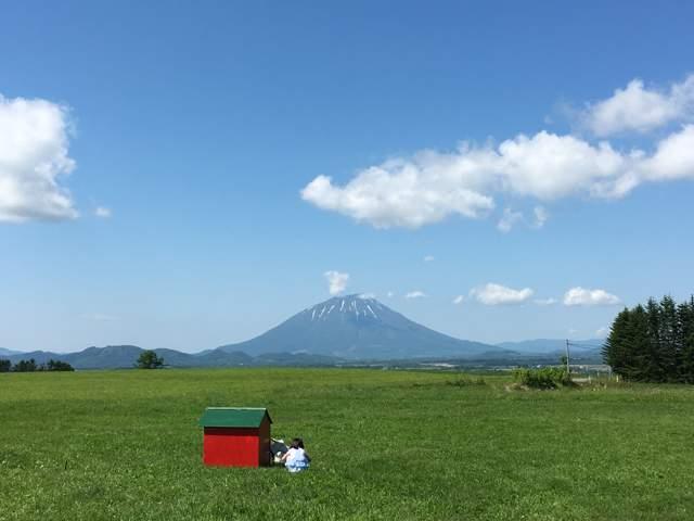 北海道ならではの大自然!!羊蹄山もきれいに見えます